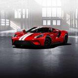 Ford GT 2017 rojo liquid - delantera