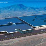 Faraday Future factory Concept - boceto