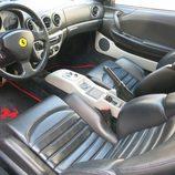 Ferrari 360 Modena F1 CR7 - salpicadero