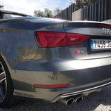 Escapes izquierdos Audi S3 Cabrio 2015