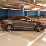 Sección lateral del Audi S3 Cabrio 2015
