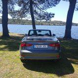 Carrocería gris del Audi S3 Cabrio 2015