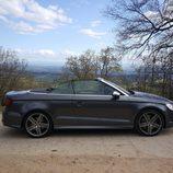 Sección lateral del Audi A3 Cabrio 300 CV