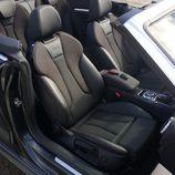 Asientos delnateros del Audi S3 Cabrio 2015