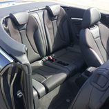 Plazas traseras del Audi S3 Cabrio 2015