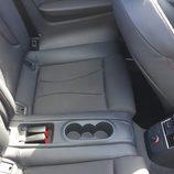 Asientos posteriores del Audi S3 Cabrio 2015