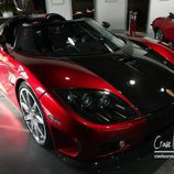 Fibra de carbono del Koenigsegg 2009