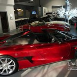 Garaje del Koenigsegg V8 de 2009