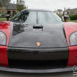 Koenigsegg CCX parrilla de carbono