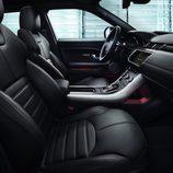 Asientos de cuero del Range Rover Evoque Ember