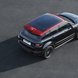 Maletero del Range Rover Evoque 2016