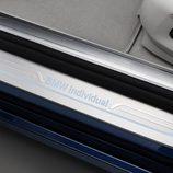 placa en la puerta del BMW Serie 7