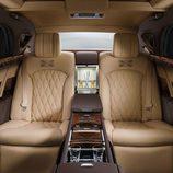Asientos de cuero del Bentley Mulsanne First Edition