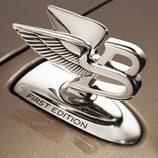 Logo de Bentley en el Mulsanne