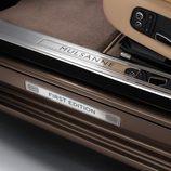 Placa de aluminio del Bentley Mulsanne First Edition 2016