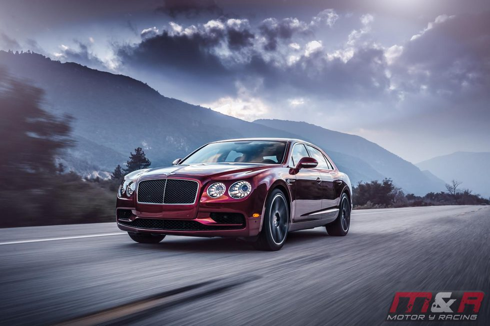 Faros LED del Bentley Flying Spur