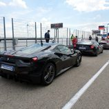 Trasera del Ferrari 488 GTB