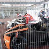 Radical y KTM en lso boxes del Jarama