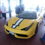 Delantera del Ferrari 458 Speciale Aperta