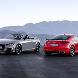 Audi TT RS Roadster dos colores