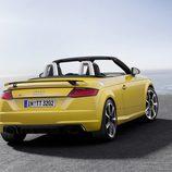 Alerón amarillo del Audi TT RS 2016
