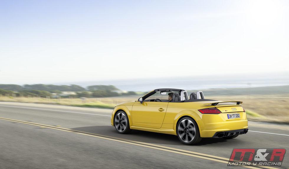 Puerta del Audi TT RS cabrio