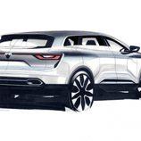 Boceto del Renault Koleos 2016