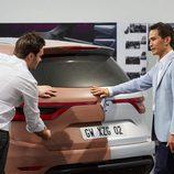 Maqueta del nuevo Renault Koleos 2016