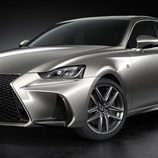 Parrilla del restyling del Lexus IS