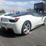 Trasera del Ferrari 458 Italia