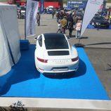 El Porsche 911 Targa desde arriba