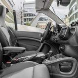 Interior gris del Smart ForTwo Cabrio Brabus 2016