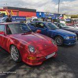 Porsche 993 y BMW M3 E36