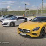 Ejemplar del Mercedes-Bens AMG GT