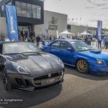 Jaguar F-Type y Subaru Impreza STI