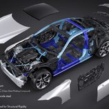 Carrocería del nuevo Lexus LC 2016