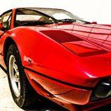 Detalle del morro del 308 GTB