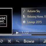 Sistema multimedia del Toyota Avensis 2016