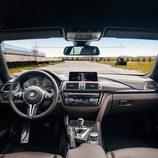 Interior de la edición CS del BMW M4