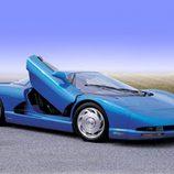 Trasera del Corvette CERV III