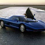 El Corvette CERV III disponía de puertas de apertura vertical
