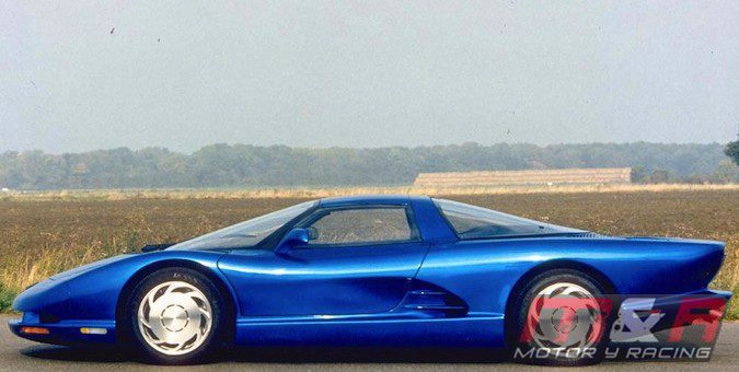 1990 Corvette CERV II prototipo de motor central