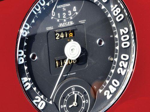 Cuadro de instrumentos del Ferrari 340 America barchetta