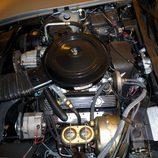 Compartimento del motor impecable