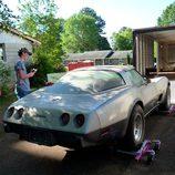 transporte del Corvette L82 1978