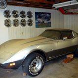 La unica casa de este Chevy Corvette