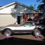 Corvette Silver Anniversary con la opción L82