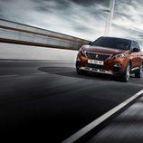 Logo de la marca Peugeot en el nuevo 3008