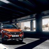 Capó naranja del nuevo Peugeot 3008