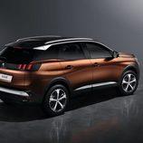 Luces traseras del nuevo Peugeot 3008